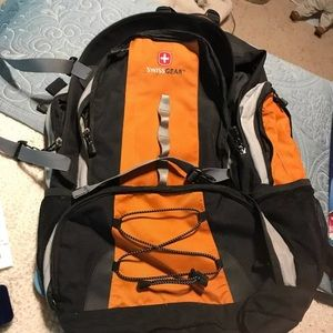 Swiss gear camping back pack